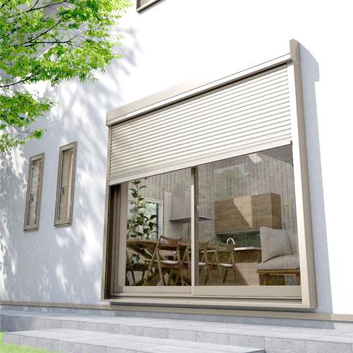 居室の窓用 電動・手動シャッター